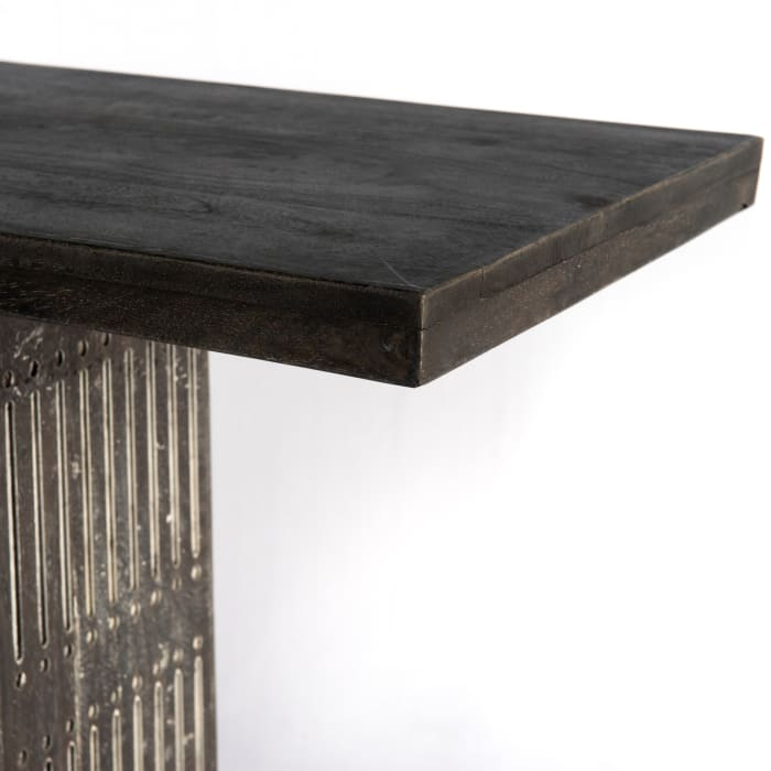 Sarah Antique Brown Console Table
