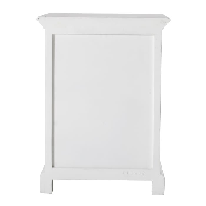 Bedside Table with Shelves