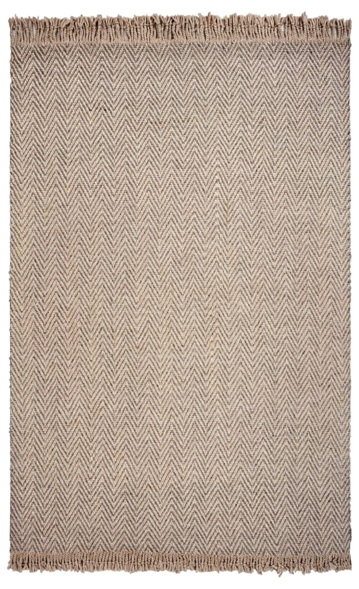 Wool Oatmeal Area Rug