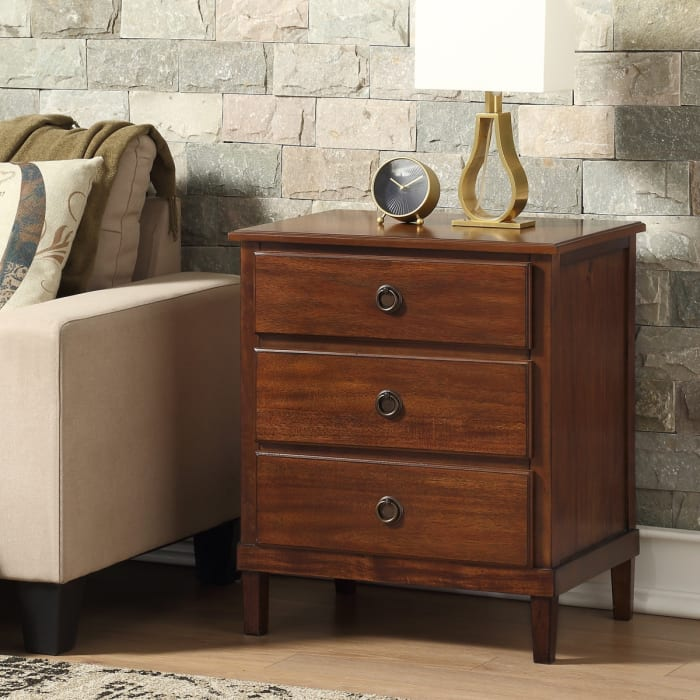 Clifford Brown 3-Drawer Nightstand