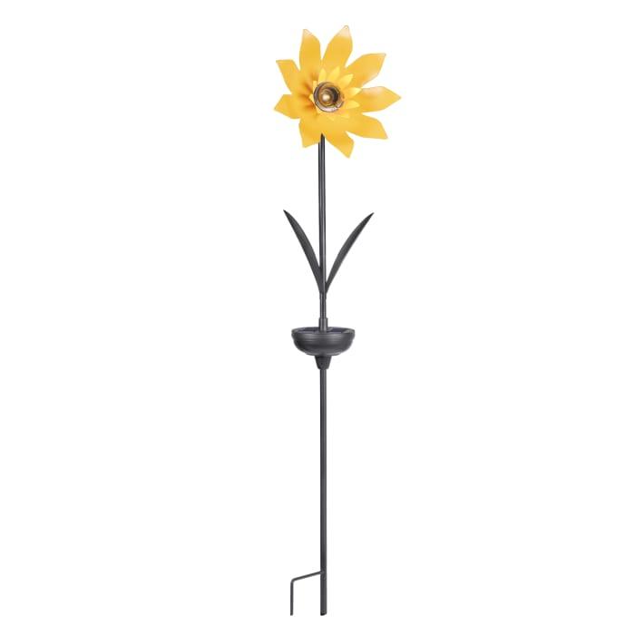 Solar Sunflower Stick Light