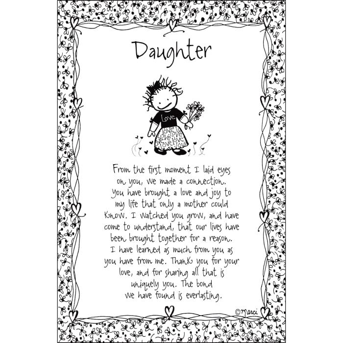 Daugher Children of the Inner Light Wood Plaque