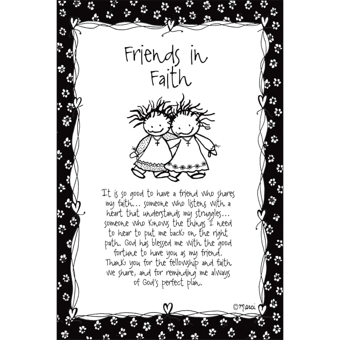 Friends In Faith Children of the Inner Light Wood Plaque