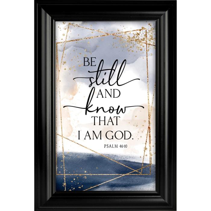 Be Still Heaven Sent Plaque Frame