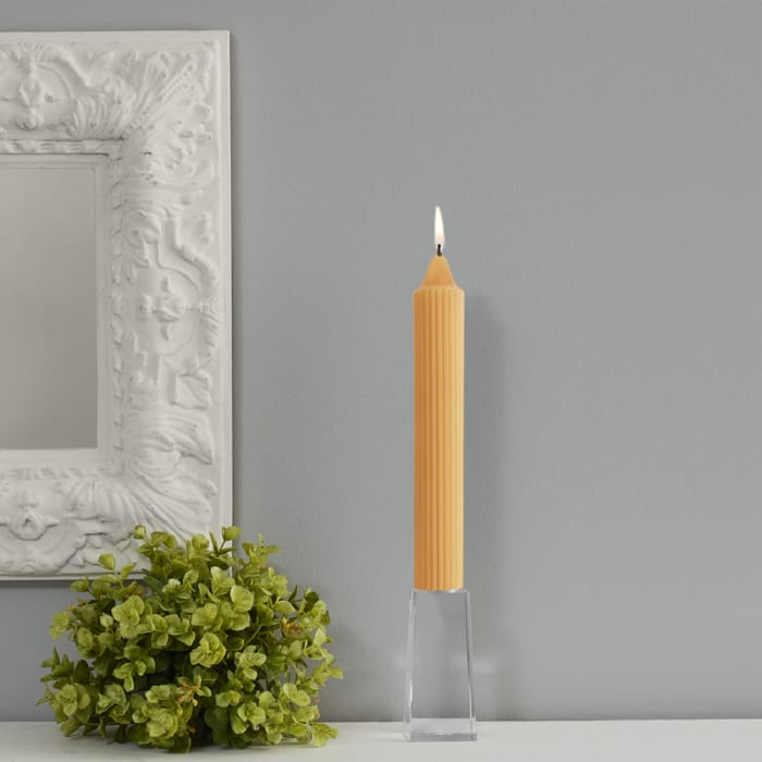 Grecian Mandarin Collenette Set of 4 Unscented Candles