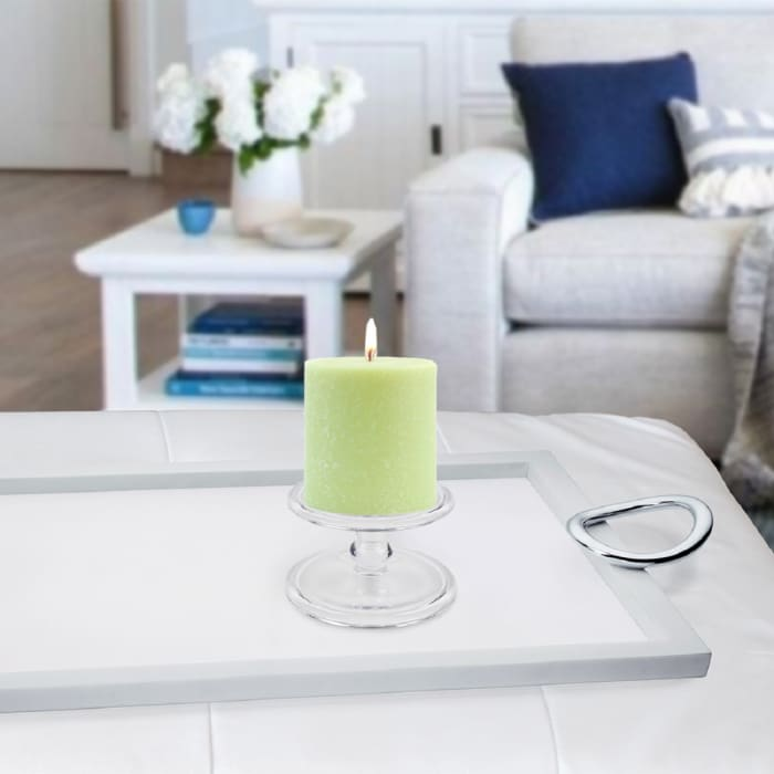 Timberline Willow Pillar Unscented Candle