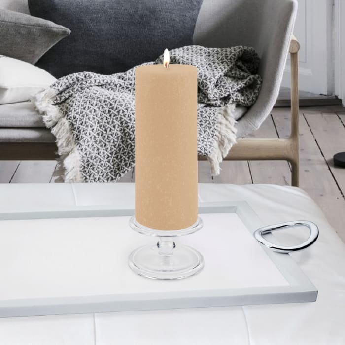 Timberline Blossom Pillar Unscented Candle