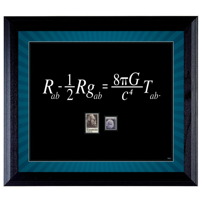 Theory with Stamps Wall Frame