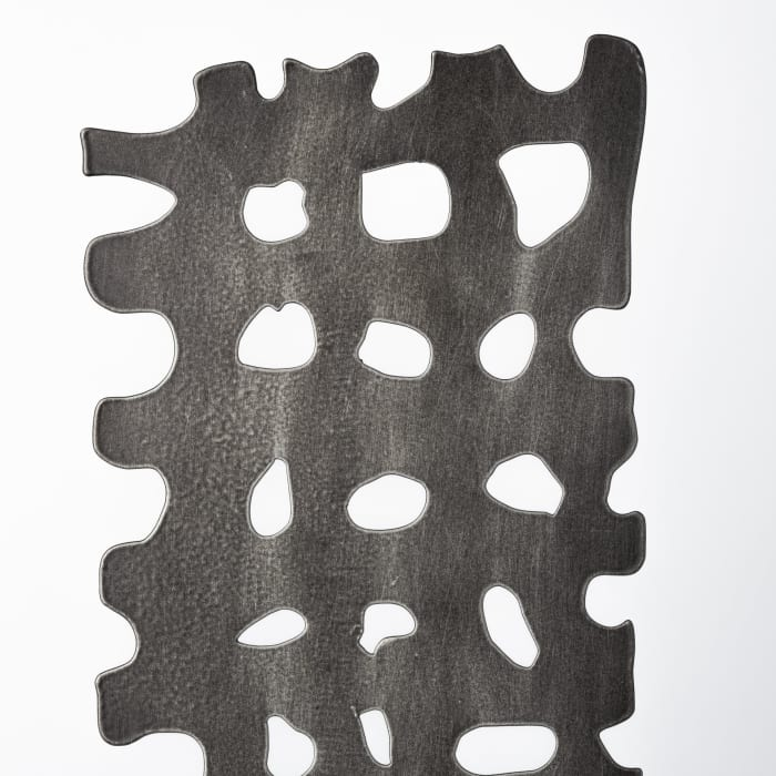 Shaw II Large Gray Rectangular Decorative Object