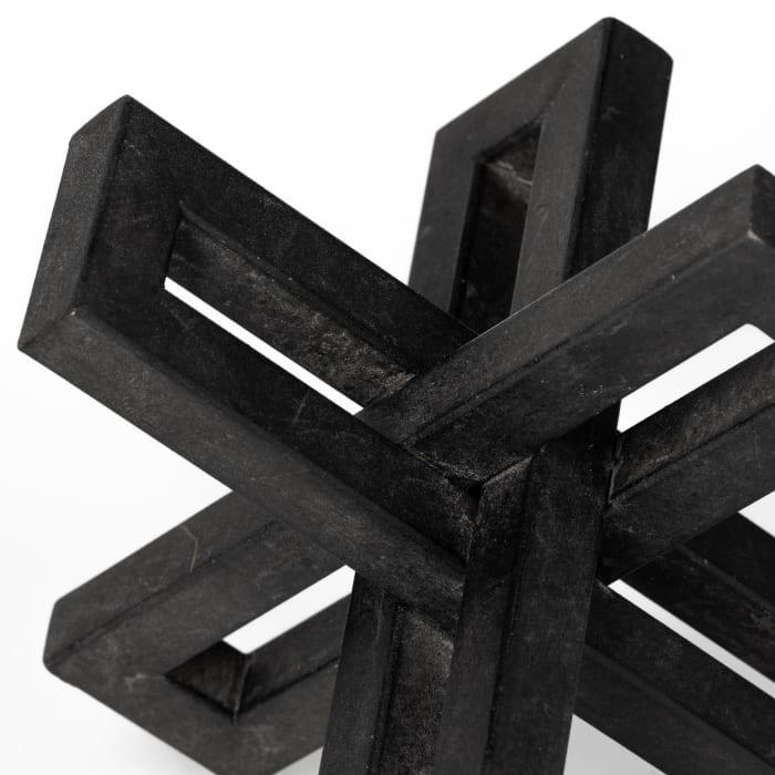Aleph Black Metal Small Medium & Large Set of 3 Jacks