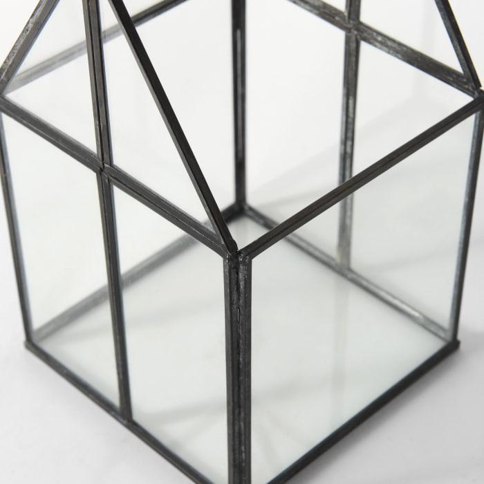 Sikes Small Glass Terrarium
