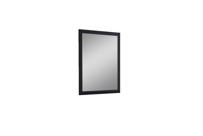 Rectangular Black Frame Glass Mirror