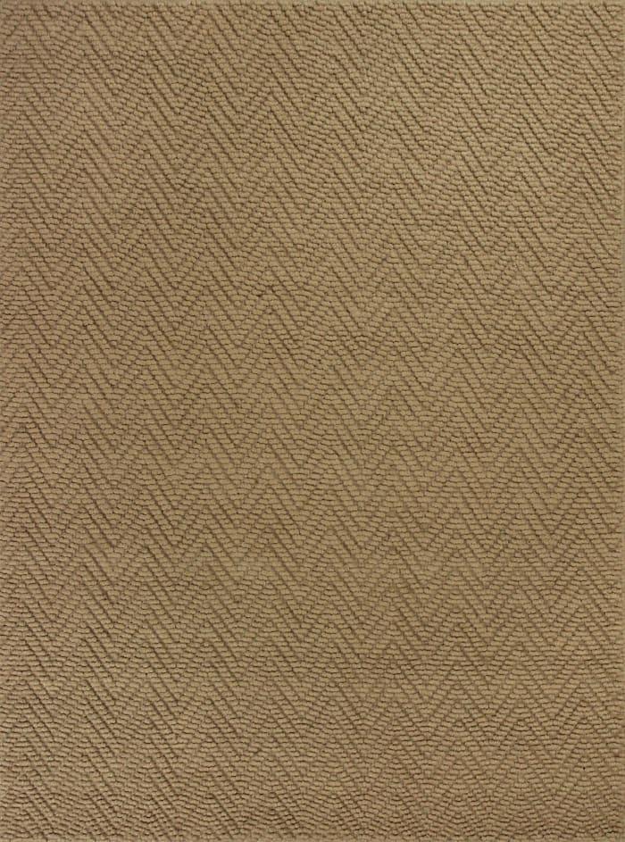 3' x 5' Natural Zigzag Pattern Jute Area Rug