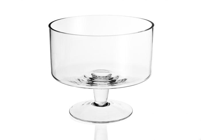 Trifle Mouth Blown  Glass Bowl