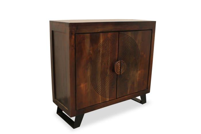 Pema 2 Carved Doors Cabinet