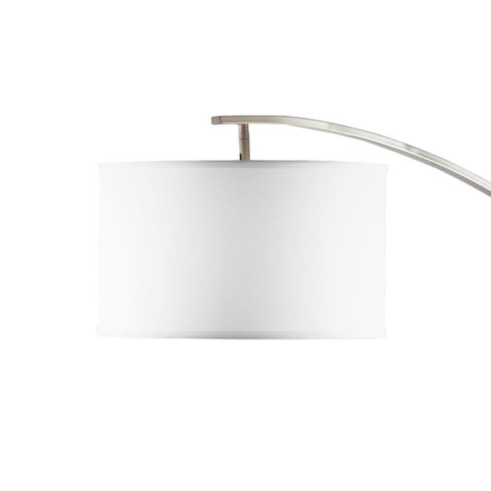 Plimpton Brushed Nickel Arc Lamp