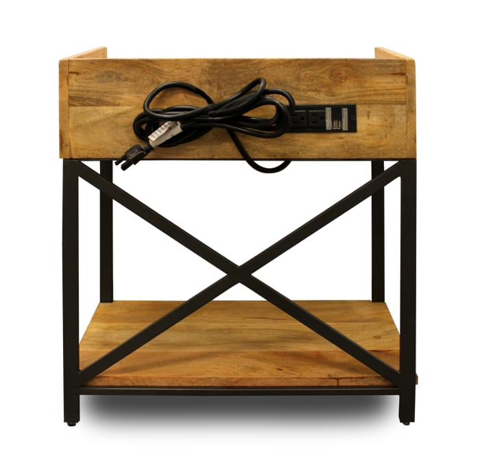 Ann with Charging Station Side Table