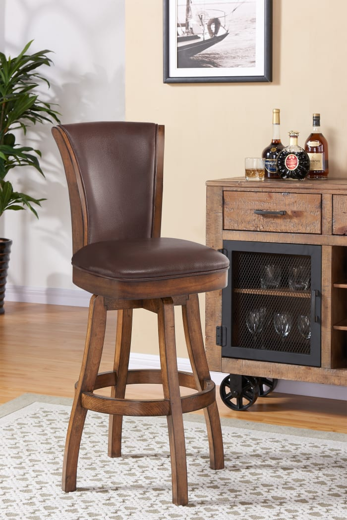 Raleigh Counter Height Swivel Stool