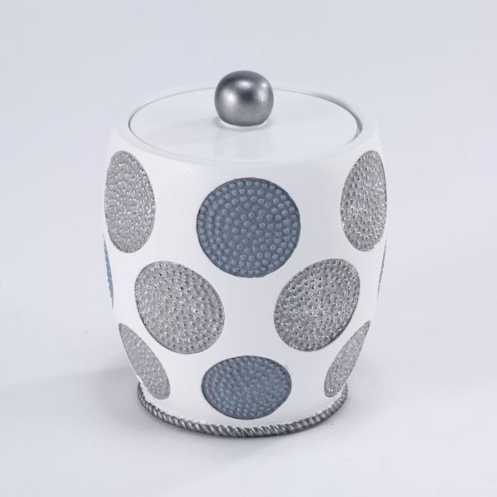 Dotted Circles Shower Jar