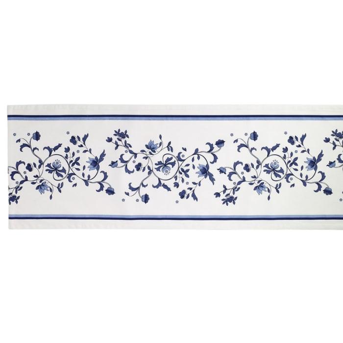 Blue Portofino Table Runner