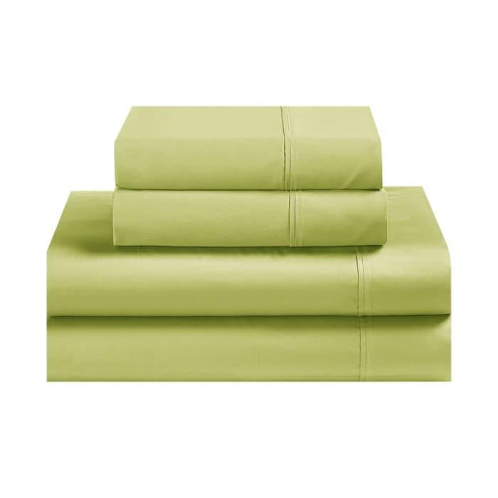 Avanti Fiesta Lemongrass Green King Sheet Set