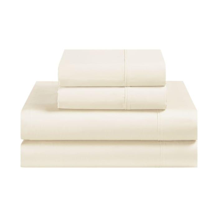 Avanti Fiesta Cream Queen Sheet Set