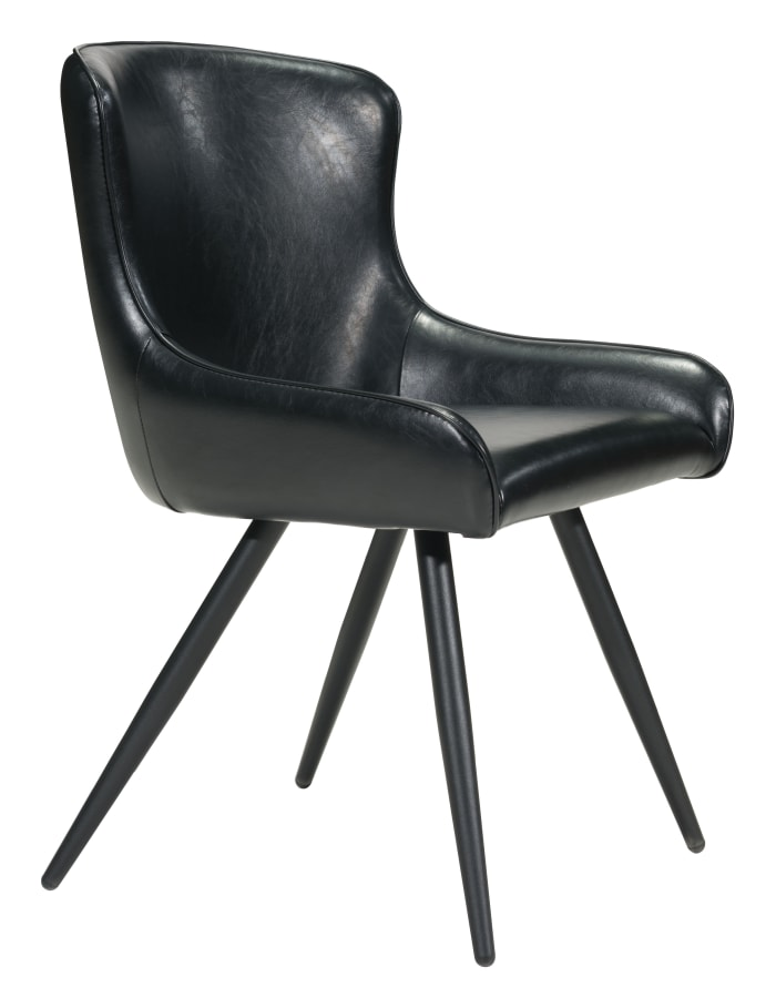Dresden Black Set of 2 Dining Chairs