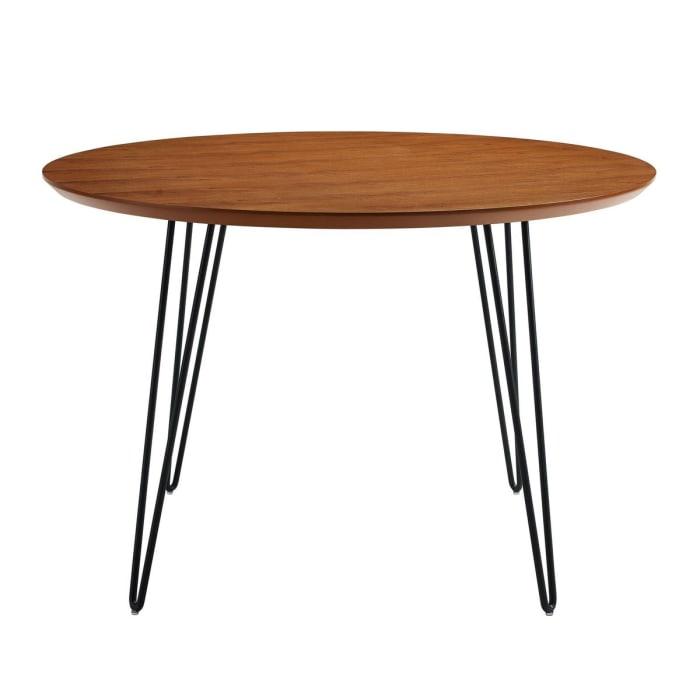 Mid Century Modern Round Dining Table