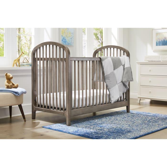 Antique Gray 3 in 1 Convertible Crib