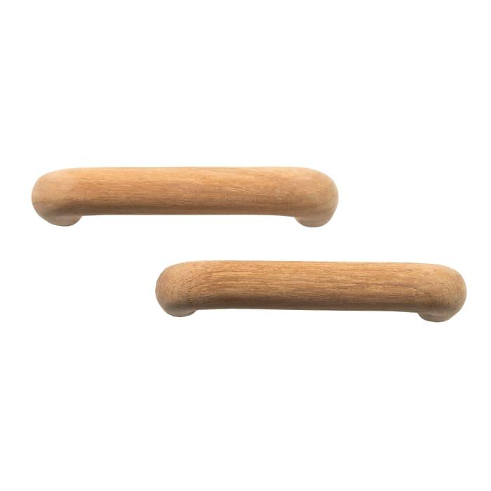 Teak Outdoor Set of 2 Drawer Pulls