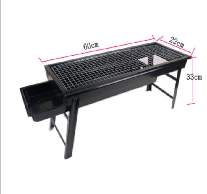 Small Charcoal Portable Folding Charcoal BBQ Grill