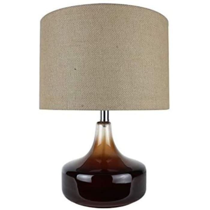 Ombre Brown Glass Accent Lamp