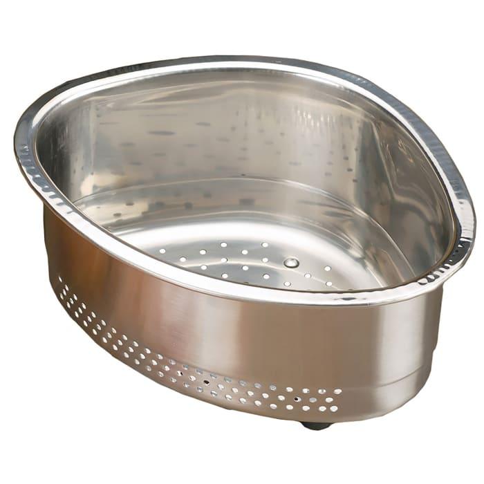 In-Sink Corner Stainless Steel Basket