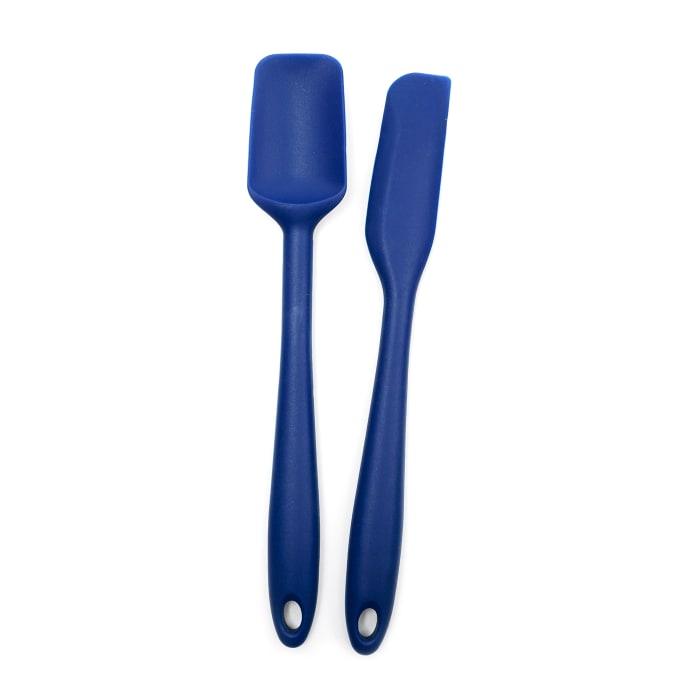 Set of 2 Mini Blue Spatulas