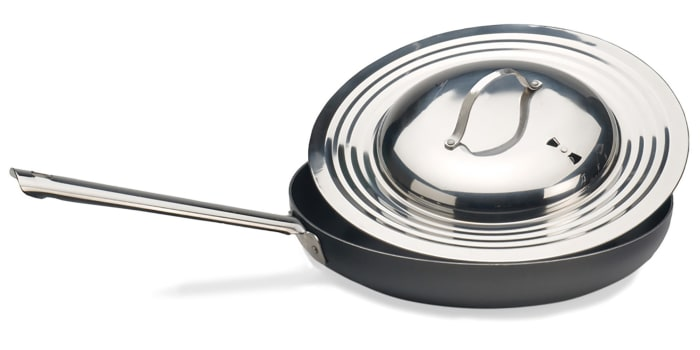 Universal 12 inch Stainless Steel Pan Lid