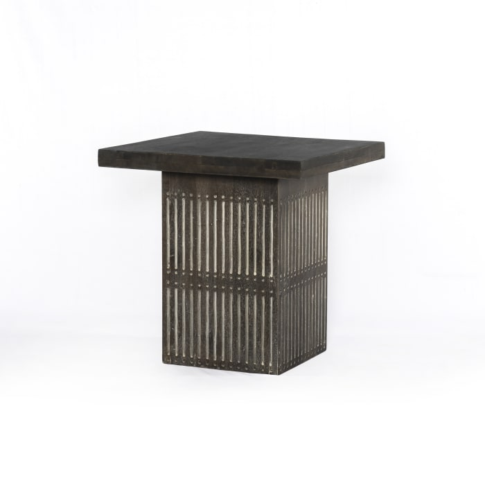 Sarah  Antique Brown End Table