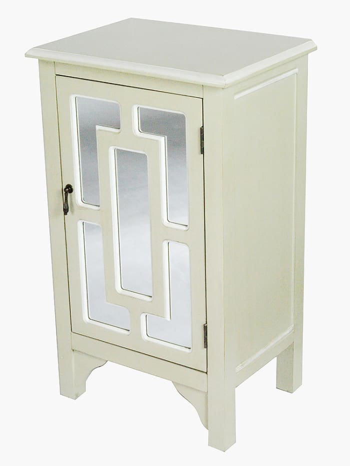 Rustic Mirrored Cabinet