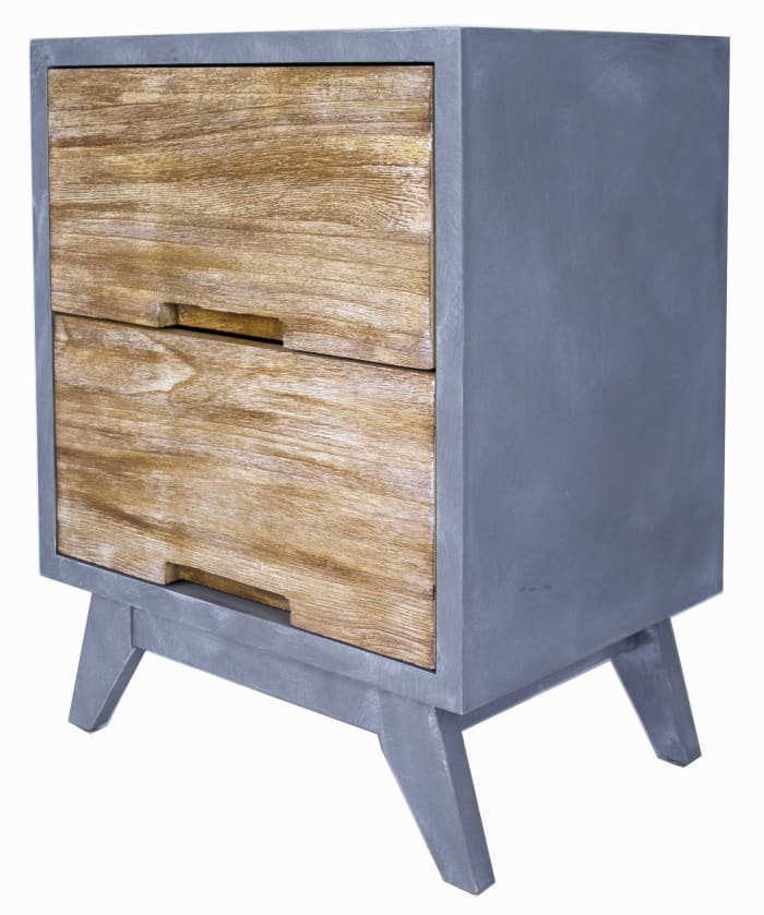 Updated Rustic Distressed Cabinet