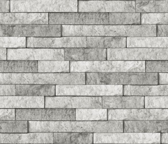 Grey Stone Peel and Stick Backsplash