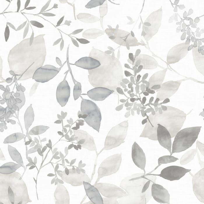 Grey Breezy Peel and Stick Wallpaper