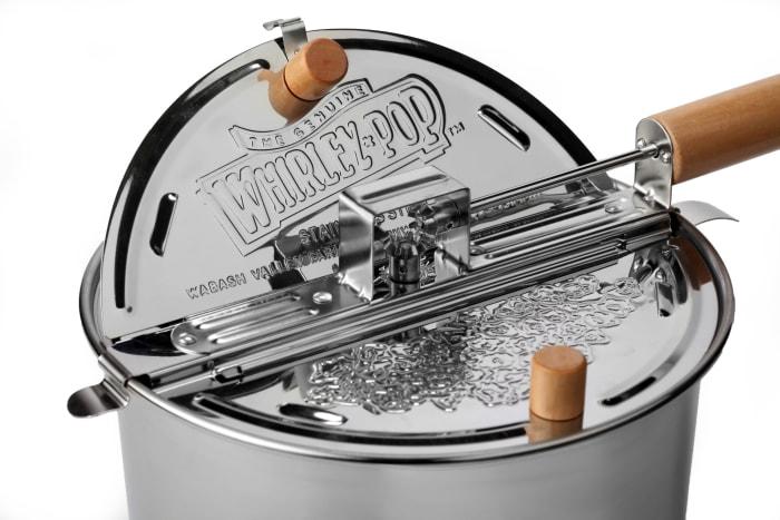 Stainless Steel Whirley Pop Popcorn Maker