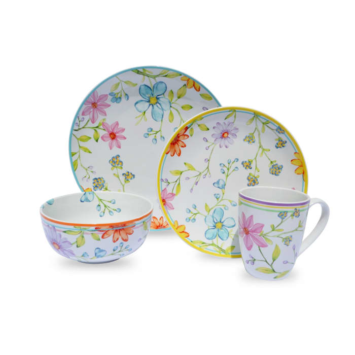 Charlotte 16 Piece Dinnerware Set