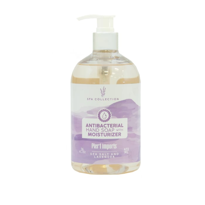 Pier 1 Spa Collection Sea Salt & Lavender Antibacterial Soap 15oz