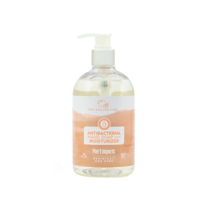 Pier 1 Spa Collection Grapefruit & Sage Antibacterial Soap 15oz