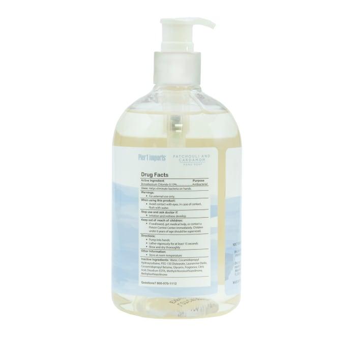Pier 1 Spa Collection Patchouli & Cardamom Antibacterial Soap 15oz
