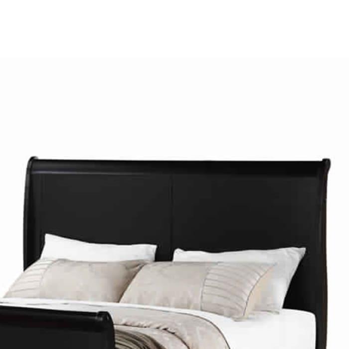 Classy Twin Bed,Black