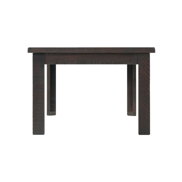 48 Inch Rectangular Wooden Coffee Table, Espresso
