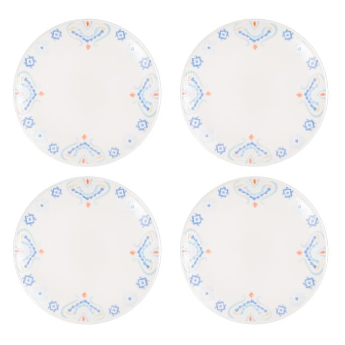 Pier 1 Carnival Appetizer Plates, Set of 4