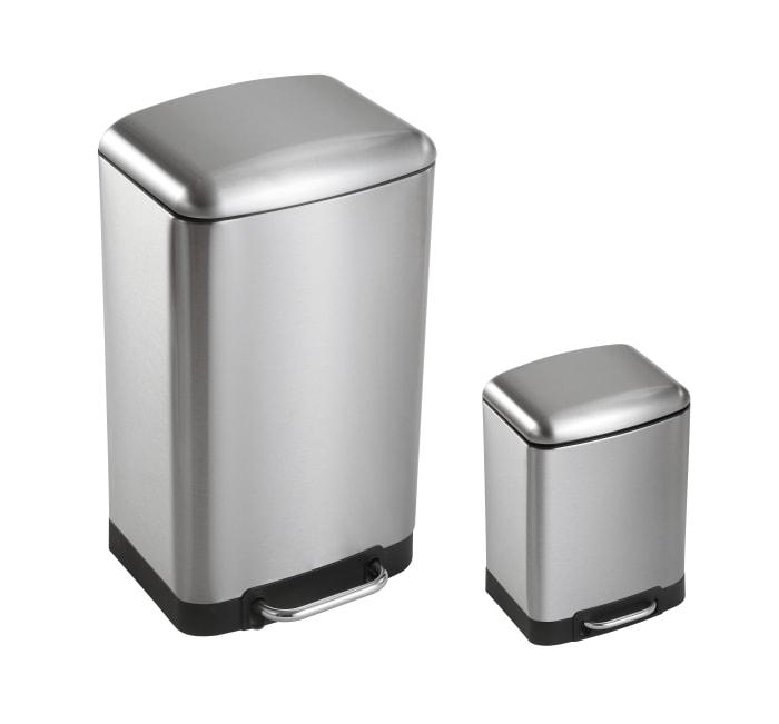 Ashley Soft-Close Lid Trash Can Set