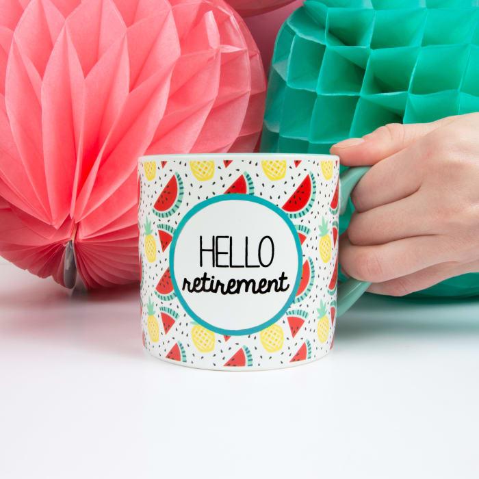 Hello Retirement - Mug